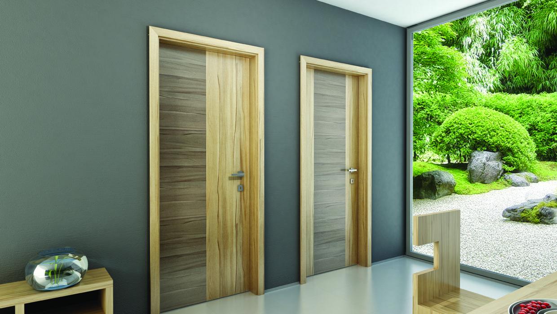 CPL/HQL intarziás ajtó
