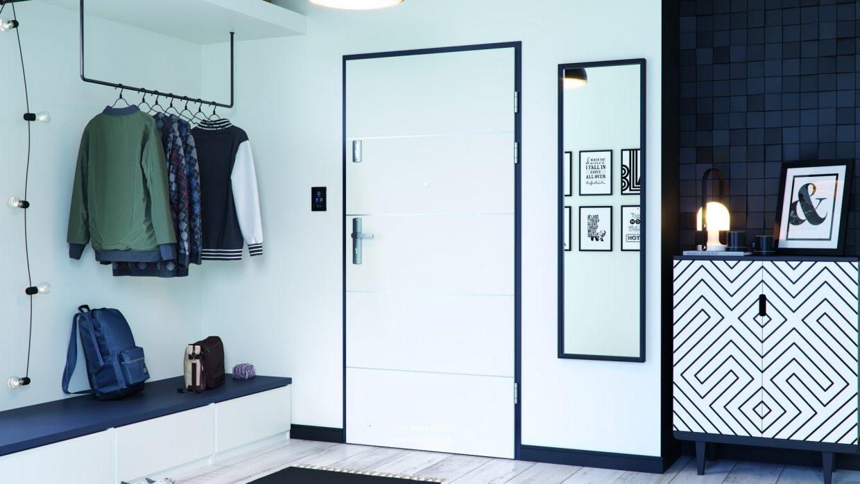 KVARC – bejárati ajtó