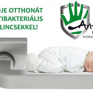 Antibakteriális kilincsek – Védelem otthonra is